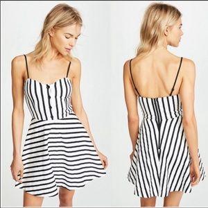 Alice + Olivia Nella Striped Dress